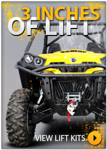 Can Am Commander Lift Kits